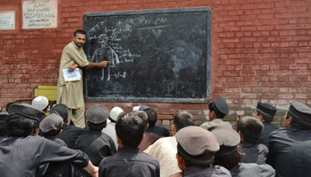 Teacher teaching